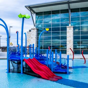 Outdoor Kiddie Pool Area