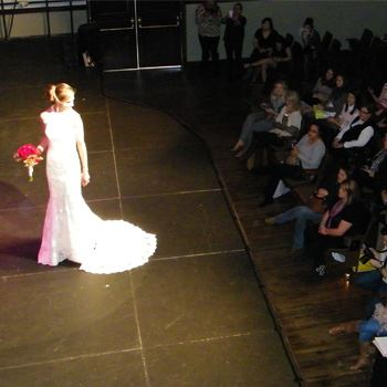 Fashion show and audience