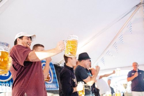 Hofbrau Stein Holding Competition
