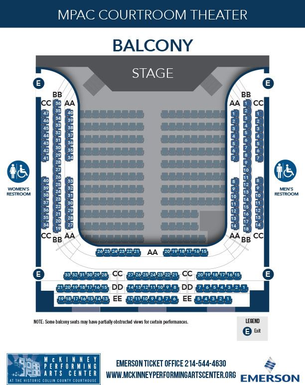 MPAC Seating Chart - Second Floor