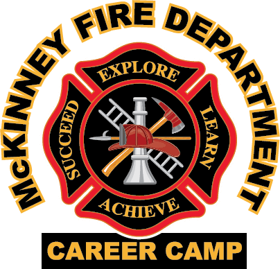 McKinney Fire Department Youth Career Camps logo