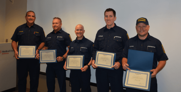 Fire Department honored