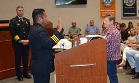 McKinney Fire Department promotions