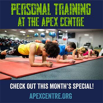 Personal Training Promo Graphic