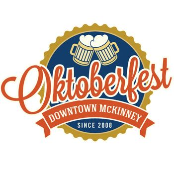 Oktoberfest Logo Beer Steins over Script