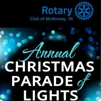 McKinney Rotary Parade of Lights - Dec. 14, 2019