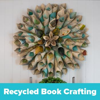 Recycled Book Craft