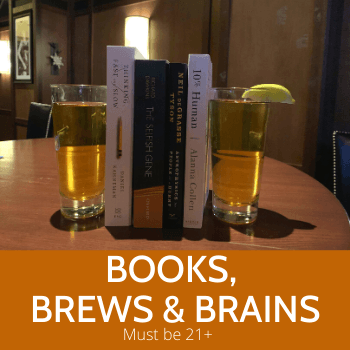 Book, Brews and Brains