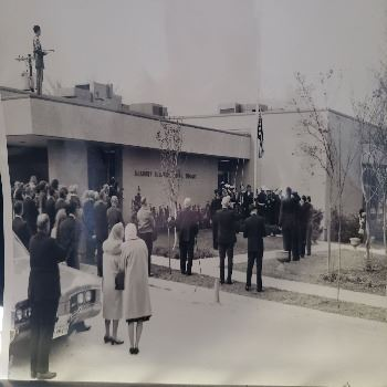 1967 Library Grand Opening
