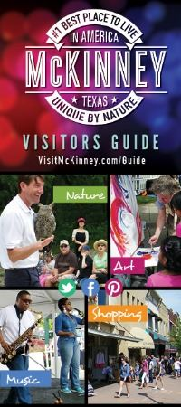 McKinney Convention and Visitors Bureau Visitors Guide Opens in new window