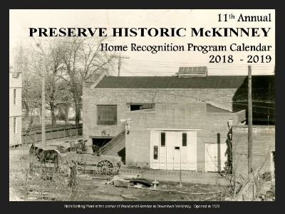 Historic Home Recognition - 2018-2019 Cover