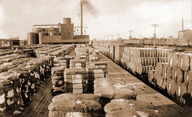 Railyard when Cotton was King