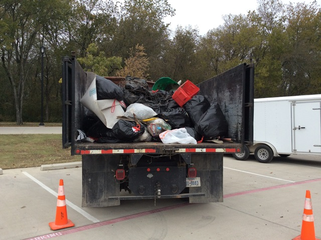 620 Pounds of Trash Collected