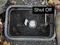 Water shut-off box