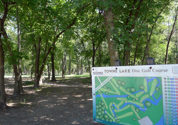 Towne Lake Disc Golf Course